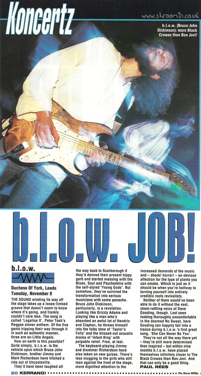 Kerrang! b.l.o.w. Job