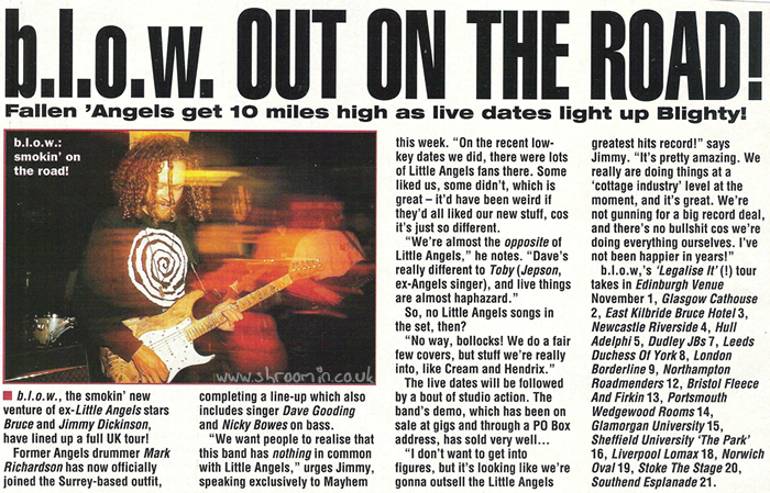 Kerrang! 'b.l.o.w. Out On The Road