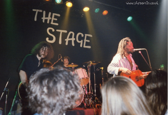 The Stage, Hanley, 20th November 1994 (thanks to Ian Cliffe)