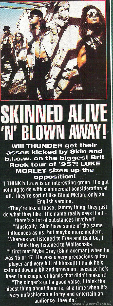 Kerrang! Luke Morley interview
